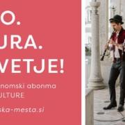 Kulturno gastronomski abonma Polna žlica kulture - vabilo