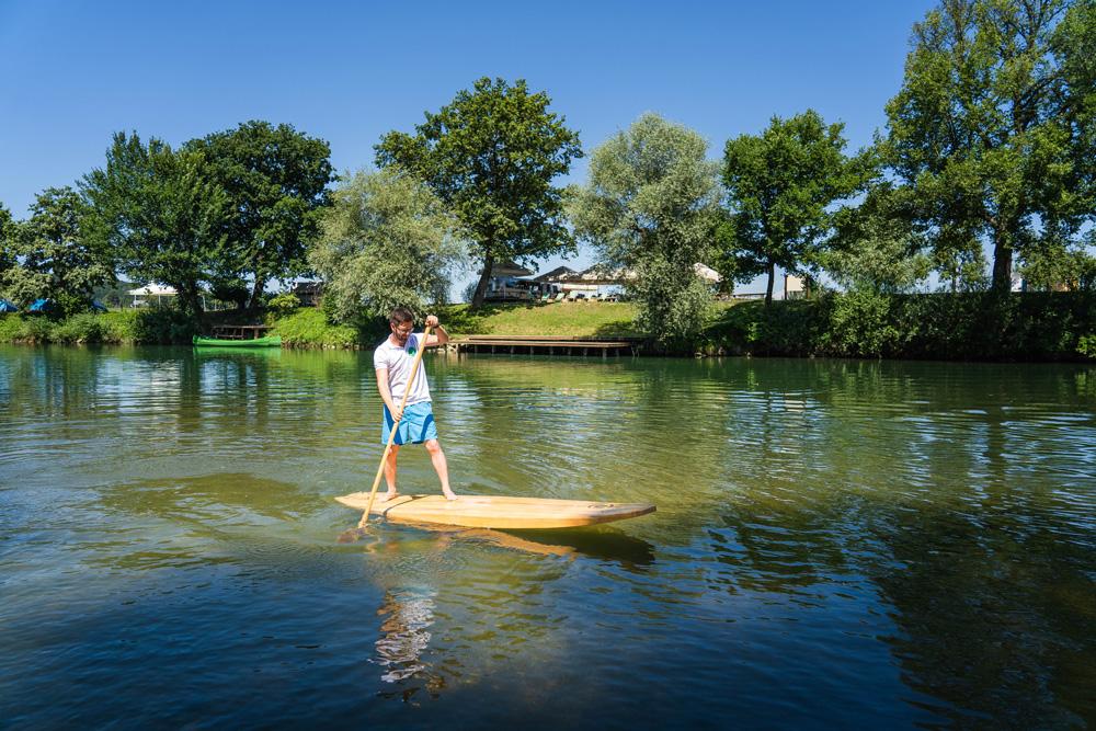Rekreacija na vodi, Kostanjevica na Krki, Avtor Šimen Zupančič